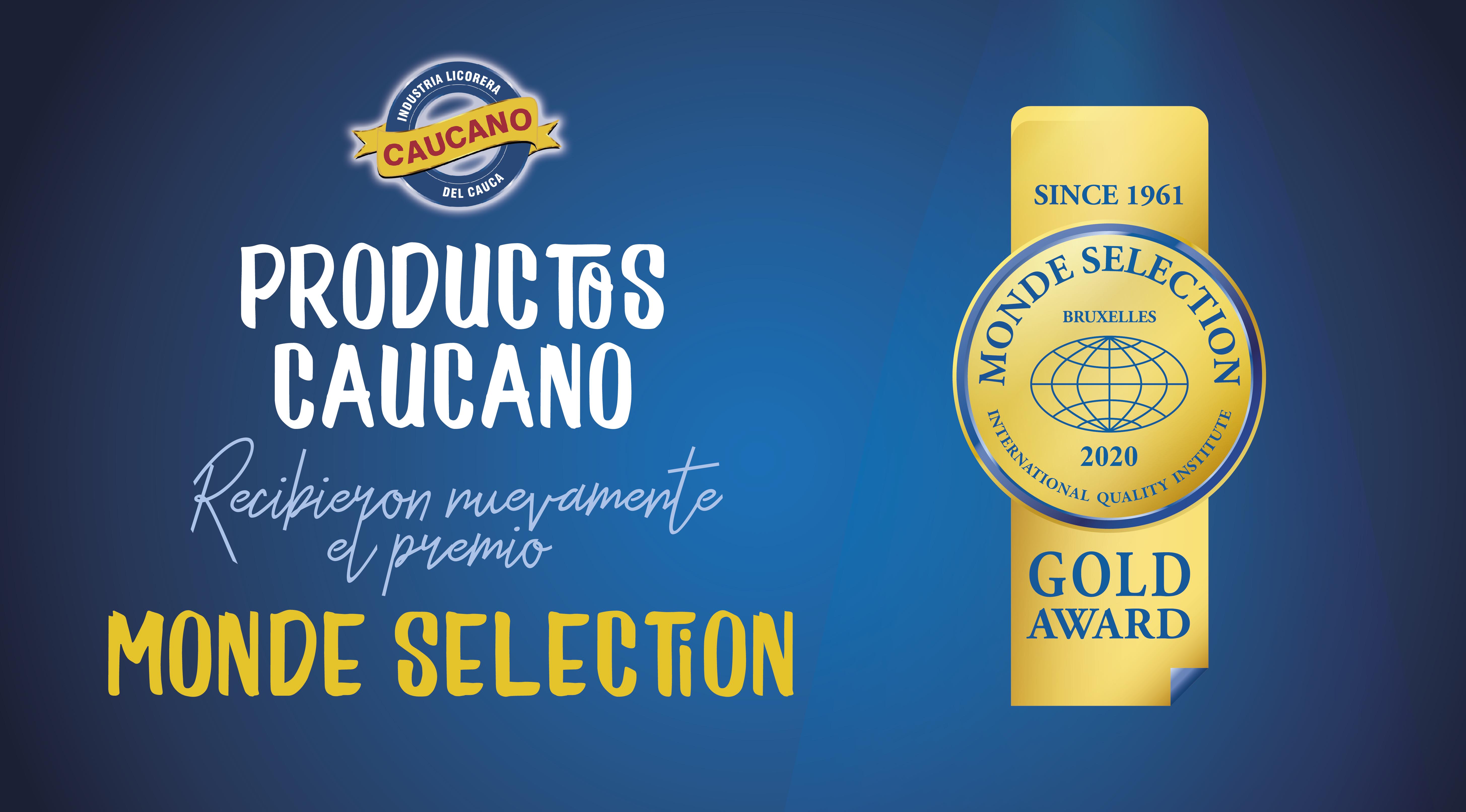 Nuestros productos son oro en el Monde Selection 2020