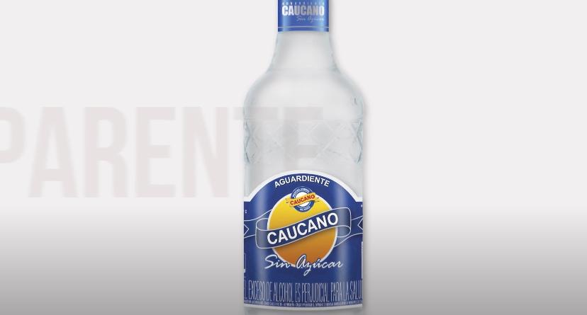 Conozca la nueva botella del Aguardiente Caucano Sin Azúcar