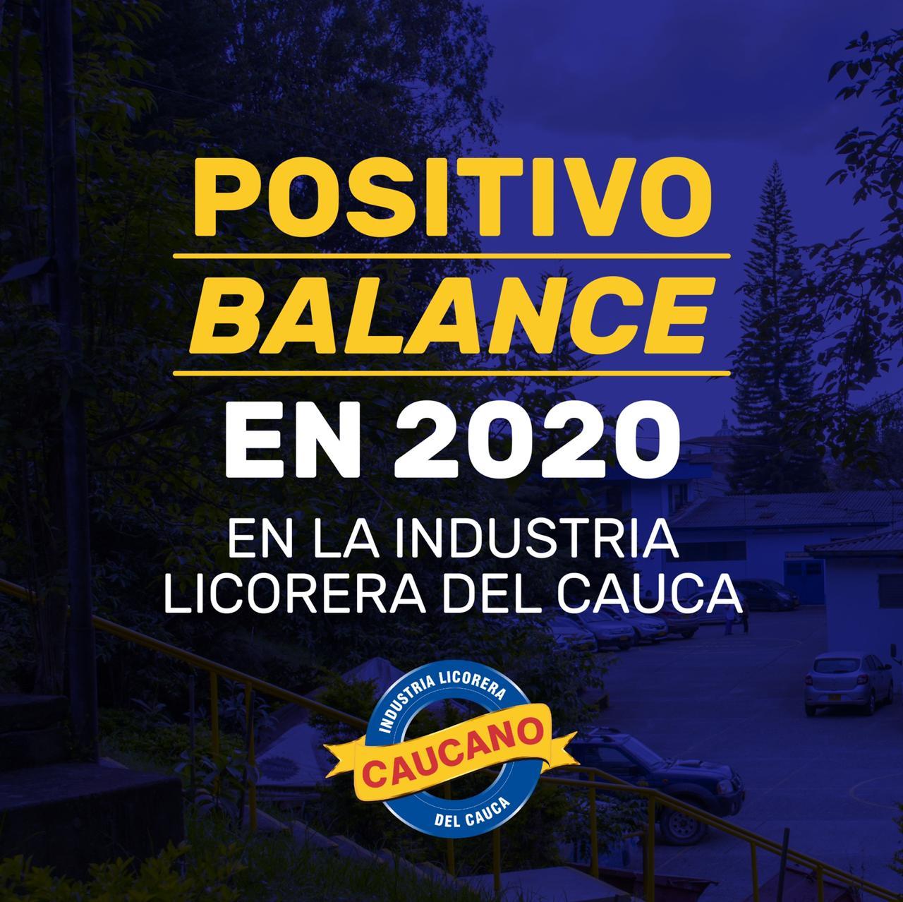 Positivo balance en 2020 en la Industria Licorera del Cauca