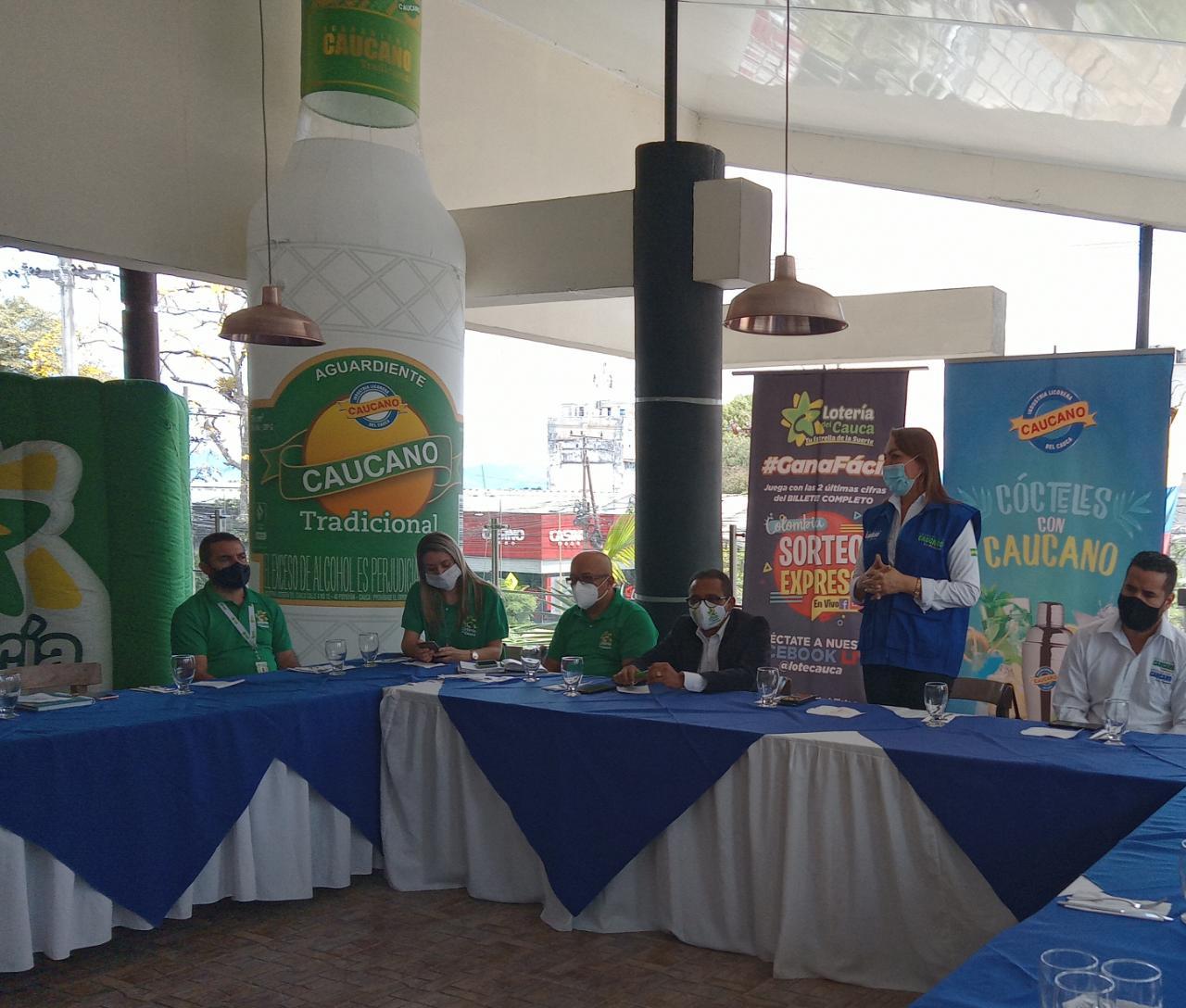 Industria Licorera Del Cauca y Lotería Del Cauca avanzan en la consolidación de importantes alianzas estratégicas
