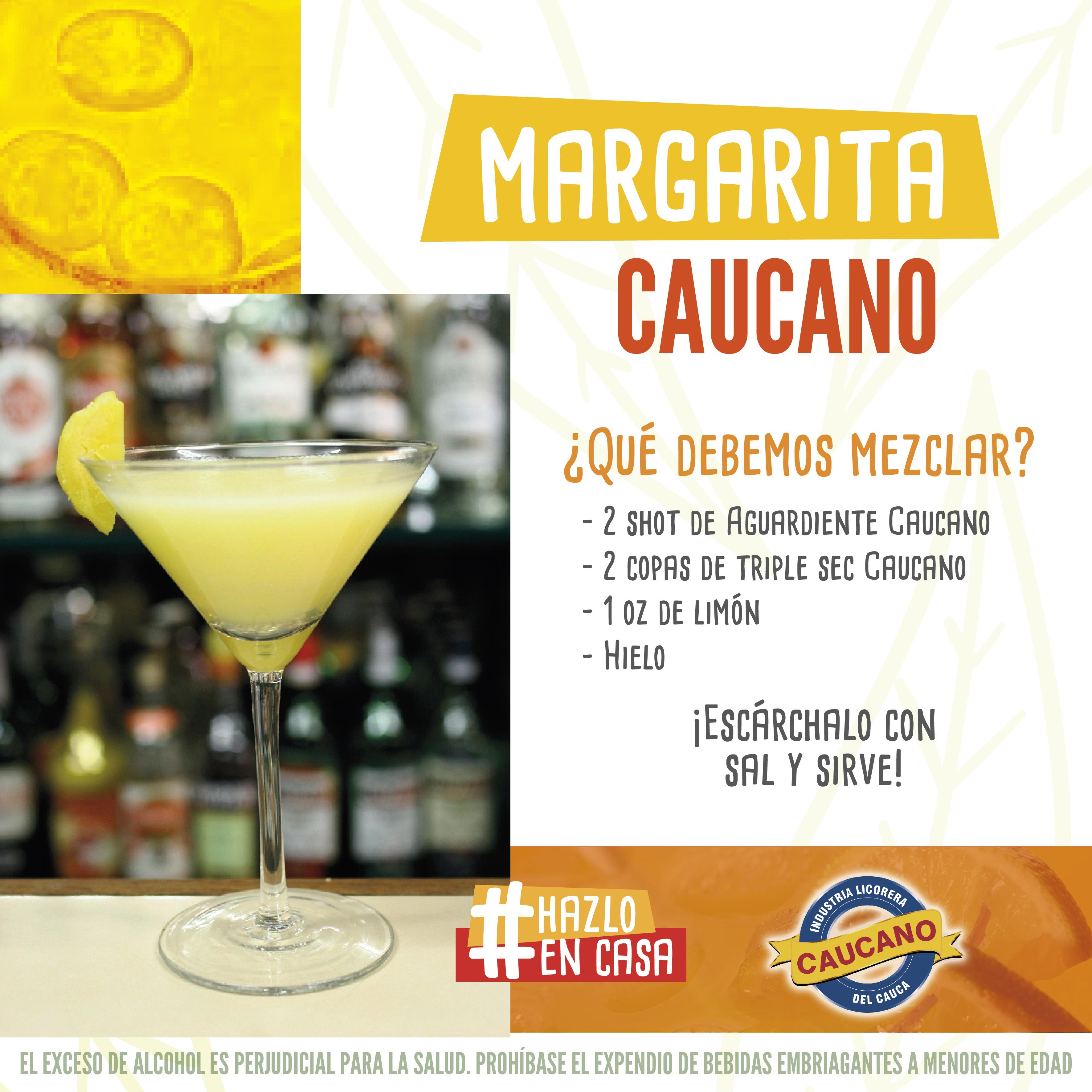 Margarita con Aguardiente Caucano