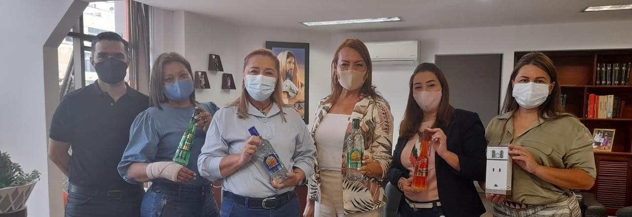 Industria Licorera del Cauca avanza en la introducción del portafolio de sus productos en Quindío