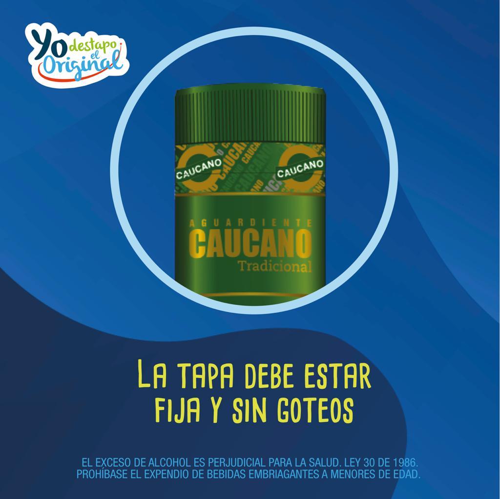 Con #YoDestapoElOriginal, Licorera del Cauca convoca al consumo responsable