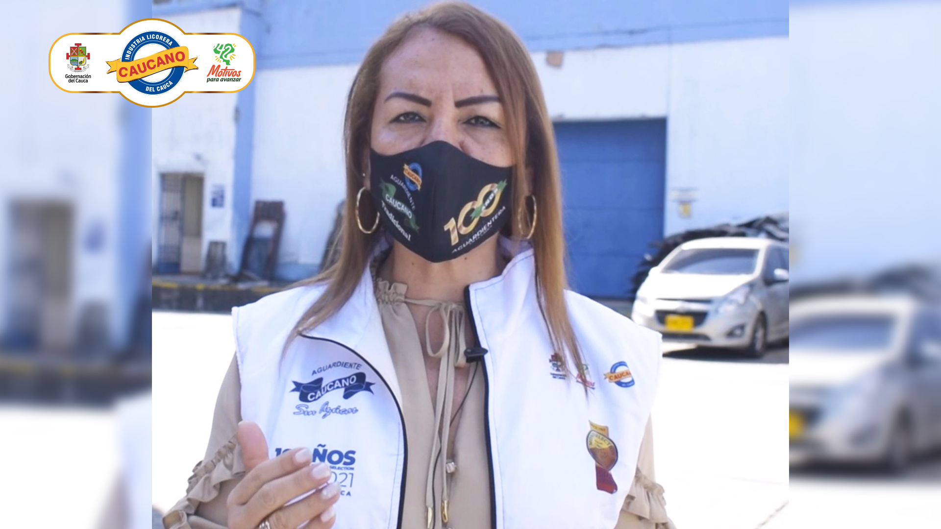 Gerente de la Industria Licorera del Cauca invita a todos los caucanos a vacunarse como un acto de responsabilidad y en defensa de la vida