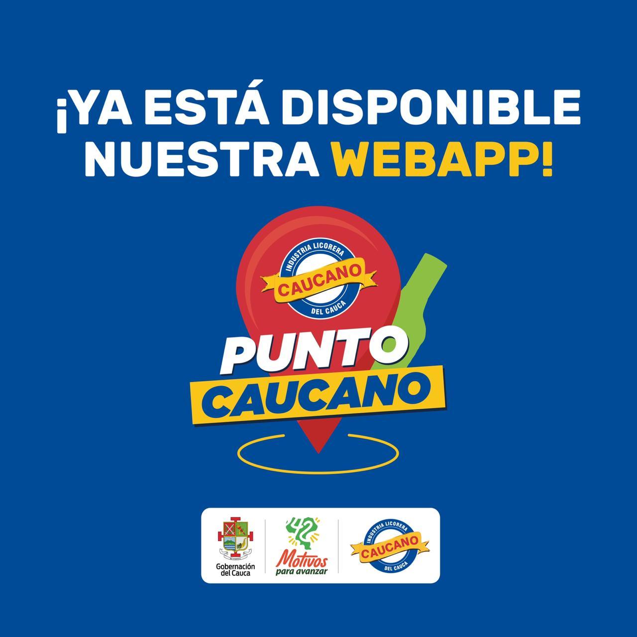 Le apostamos al mundo digital con nuestra nueva web app 'Punto Caucano'