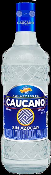 Aguardiente Caucano sin azúcar;