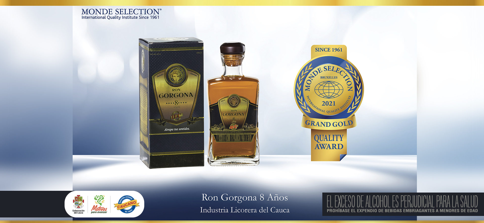 MONDE SELECTION RON GORGONA